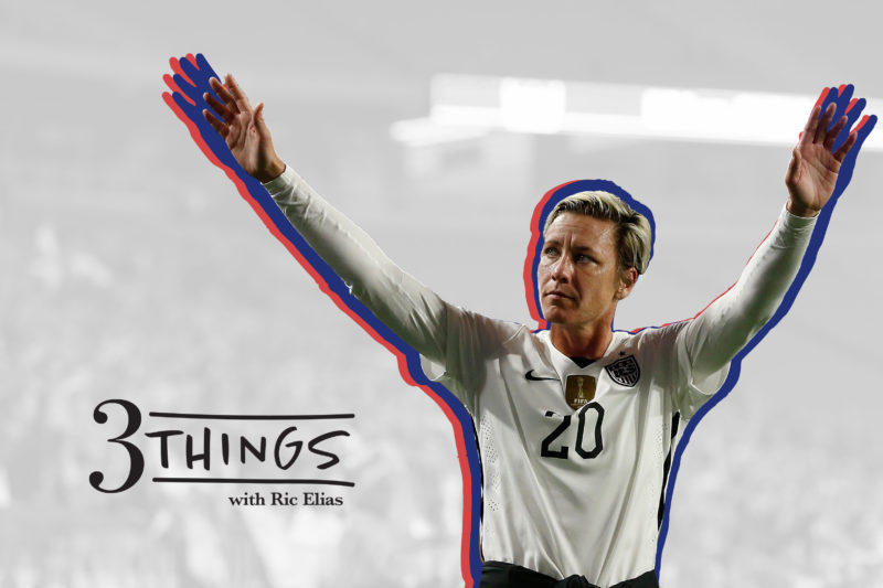 Leading the Pack (Abby Wambach)